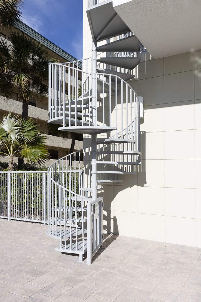 Private, secure stairway to the beach. Exclusive.